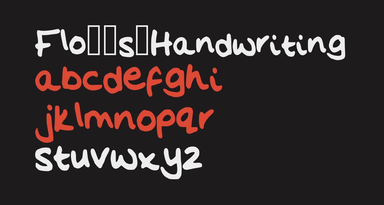Flo__s_Handwriting
