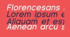 Florencesans Bold Italic