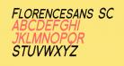 Florencesans SC Cond Bold Italic