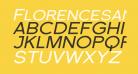 Florencesans SC Exp Italic