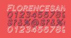 Florencesans SC Shaded Italic