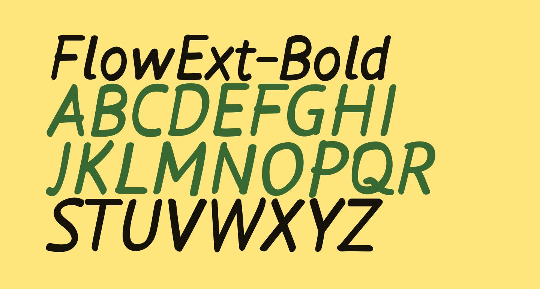 FlowExt-Bold