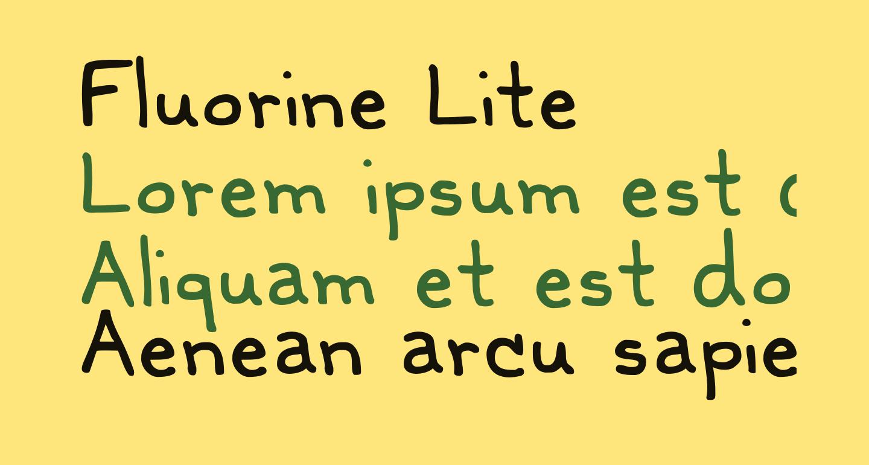 Fluorine Lite