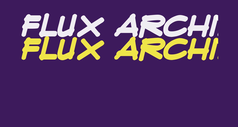 Flux Architect Bold Italic
