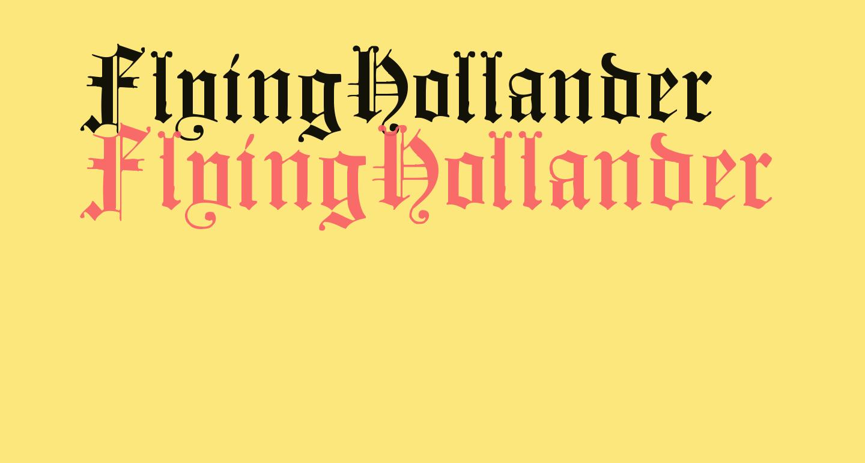 FlyingHollander