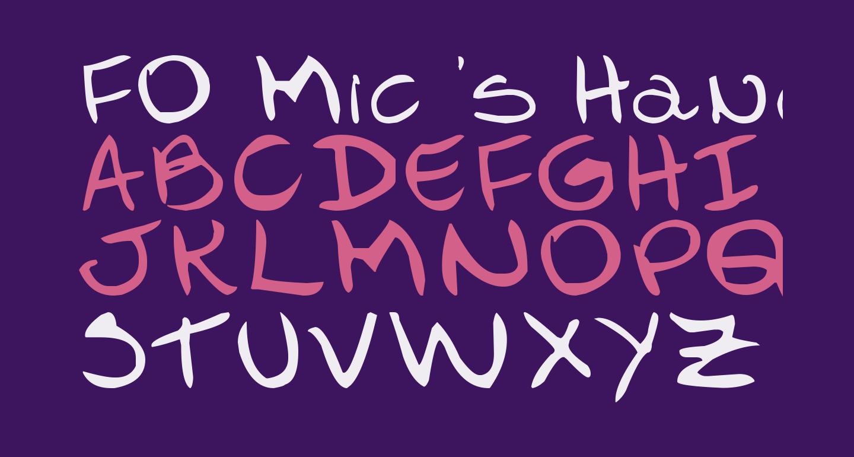 FO-Mic's Hand