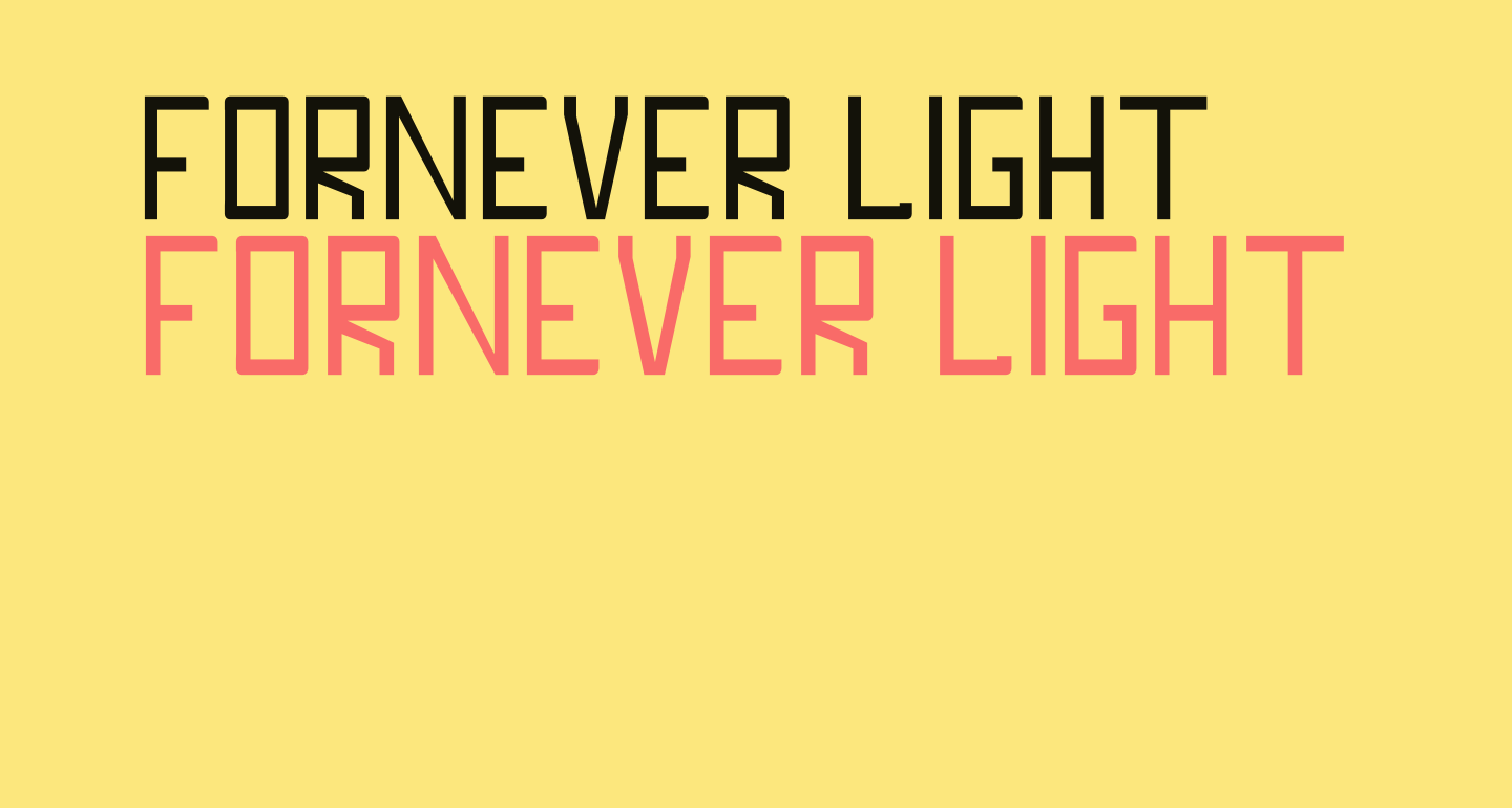 FORNEVER Light
