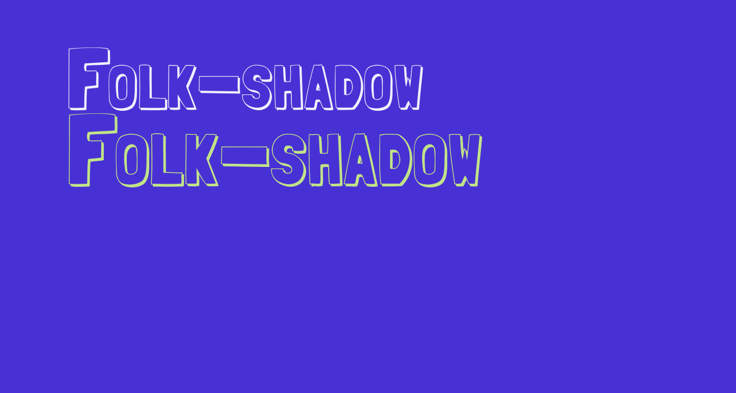 Folk-shadow