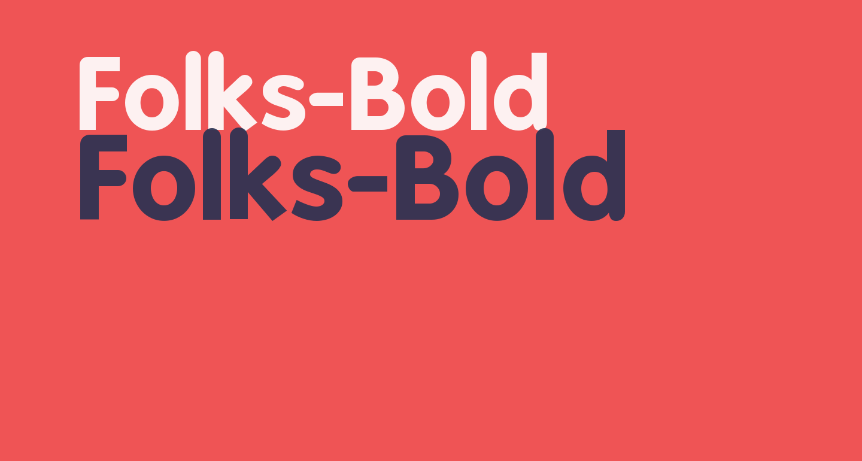 Folks-Bold