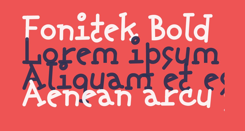 Fonitek Bold