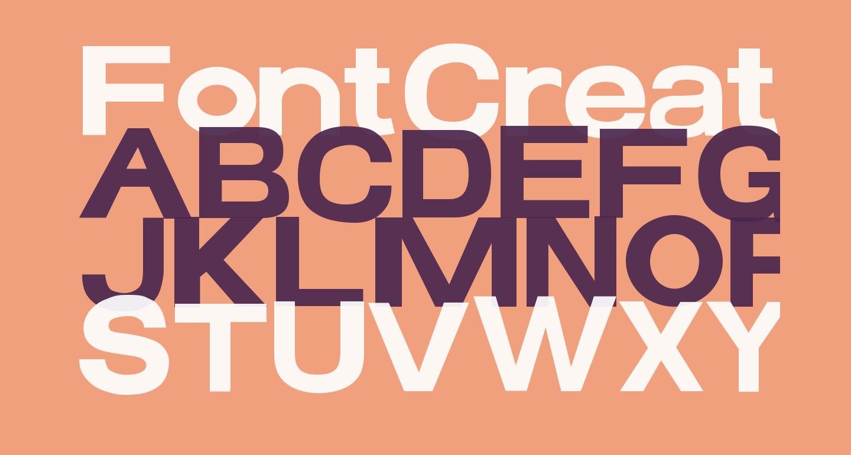 FontCreator Program 4-1