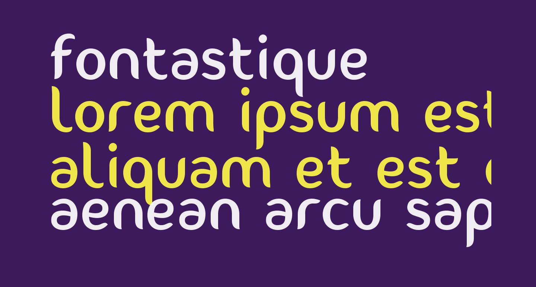 Fontastique