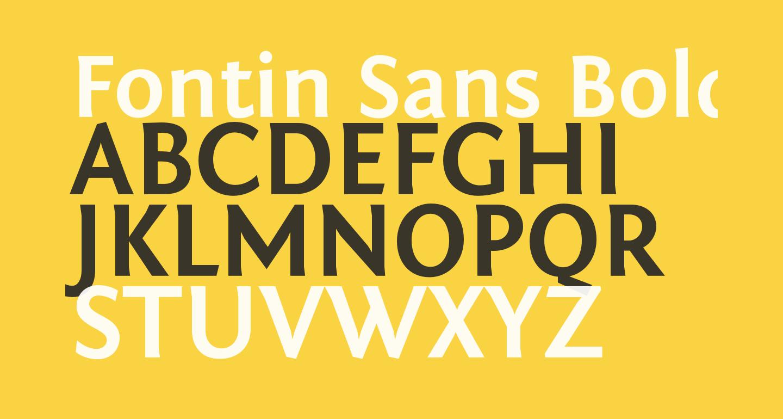 Fontin Sans Bold