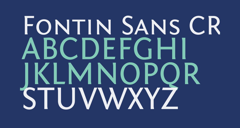 Fontin Sans CR SC