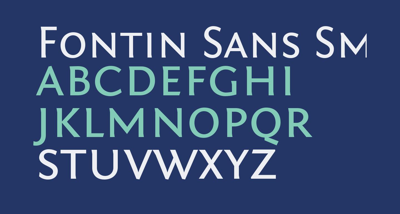 Fontin Sans Small Caps