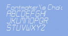 Fontmaker's Choice ThinItalic