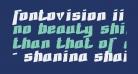Fontovision II 3D