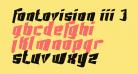 Fontovision III 3D no 2