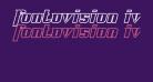 Fontovision IV outline