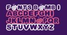 Fonts Bomb I love grapes