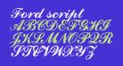 Ford script