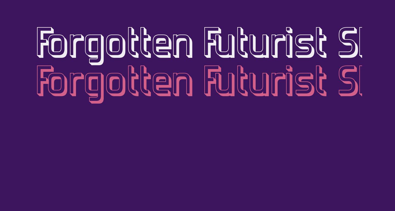 Forgotten Futurist Shadow