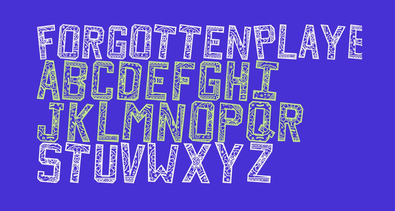 ForgottenPlaybill
