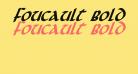 Foucault Bold Italic