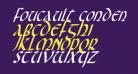 Foucault Condensed Italic