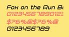Fox on the Run Bold Italic