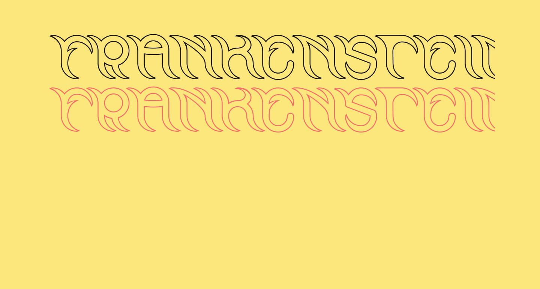 FRANKENSTEIN MONSTER-Hollow