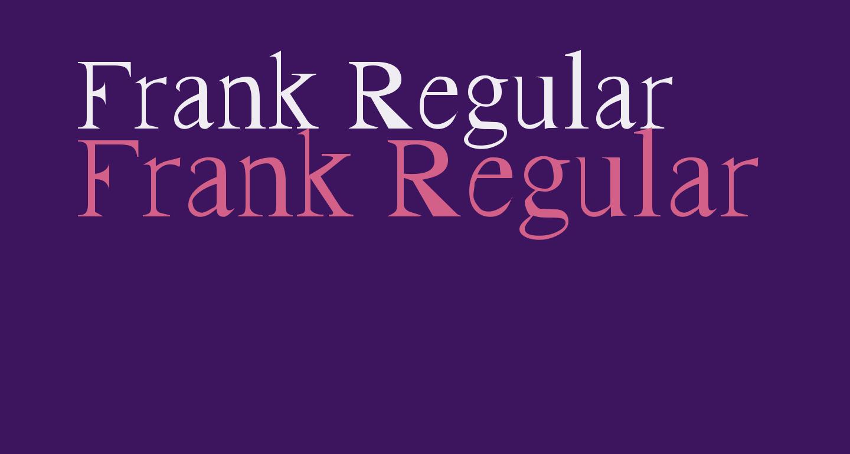 Frank Regular