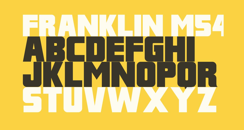 Franklin M54