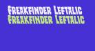 Freakfinder Leftalic