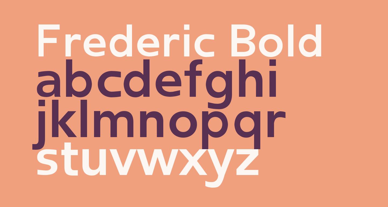 Frederic Bold