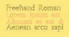 Freehand Roman