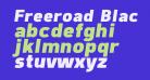 Freeroad Black Italic