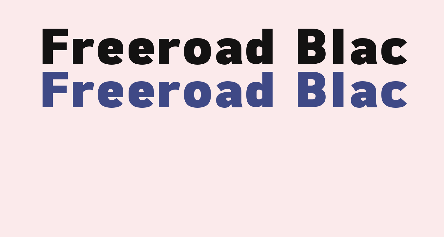 Freeroad Black