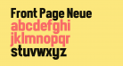 Front Page Neue