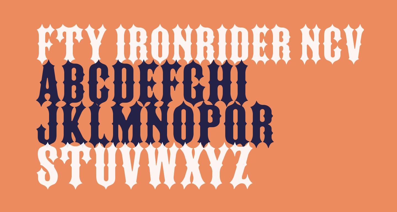 FTY IRONRIDER NCV