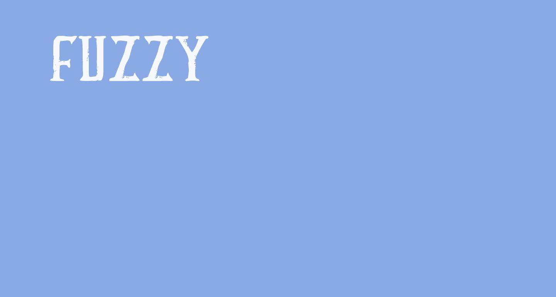 FUZZY bold