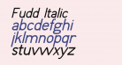 Fudd Italic