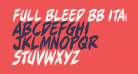Full Bleed BB Italic