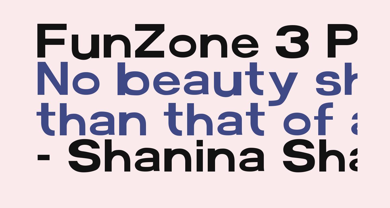 FunZone 3 Pro Regular