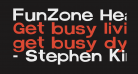 FunZone Headline Regular