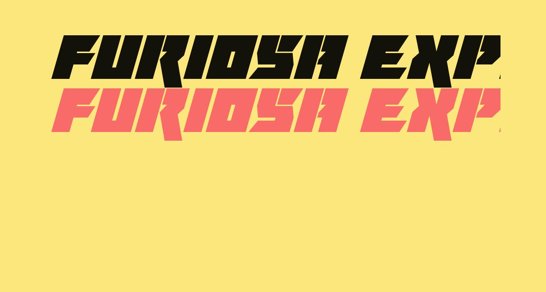 Furiosa Expanded Super-Italic