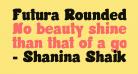 Futura Rounded