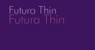 Futura Thin