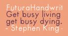 FuturaHandwritten