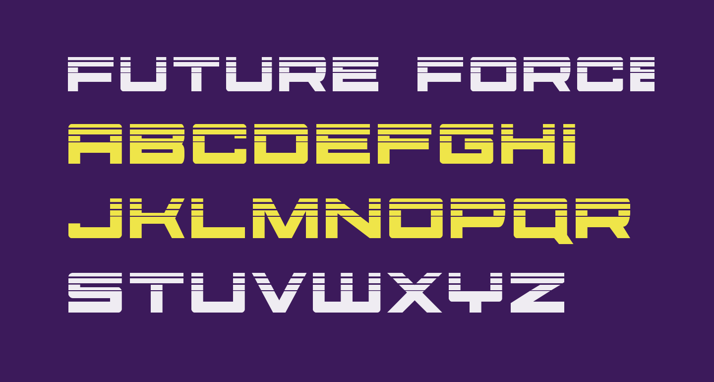 Future Forces Halftone